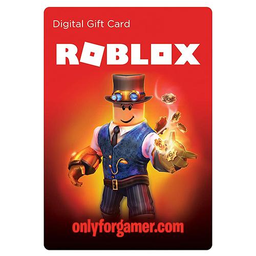 Roblox Gift Card Codigo Digital Only For Gamer