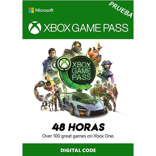 XBOX GAMEPASS 48 horas