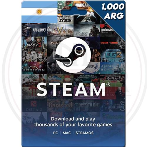 imagen de steam 1000 arg